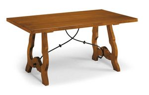 Art. 77, Table en bois de style traditionnel