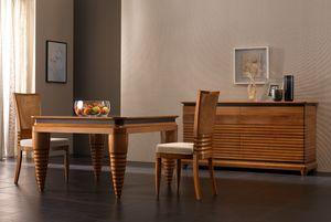 Elettra Art. EL008, Table caractérisée par des pieds coniques