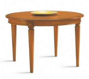 Villa Borghese Table à manger 3375, Table de style Directoire