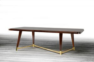W06DT, Élégante table en bois pour salle à manger