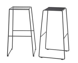 Art.Easy 2, Barstool thermolaquage acier, base cantilever, externe