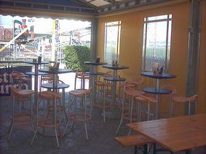 Max cod. 16 cod. 19, Tabouret de bar moderne restaurant en plein air et le bar