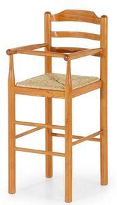 Baby, Tabouret en bois pour les enfants adaptée pour les restaurants, les selles des enfants pour la cuisine