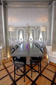 Rotondo cuir, Tabouret classique adapté pour bar et restaurants