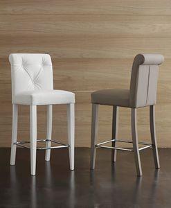 Art. 564 Billionaire stool, Tabouret d'ecoleather à toucher doux de haute qualité