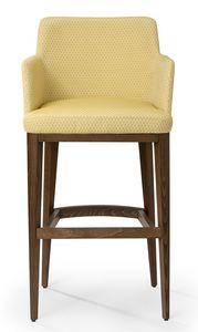 Katel stool ARMS, Tabouret moderne avec accoudoirs