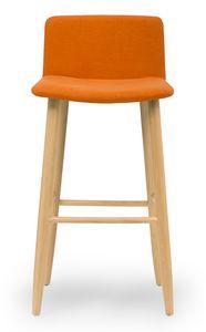 Web stool, Tabouret rembourré moderne