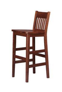 R11SG, Tabouret en bois de hêtre, pour les bars à vins et restaurants