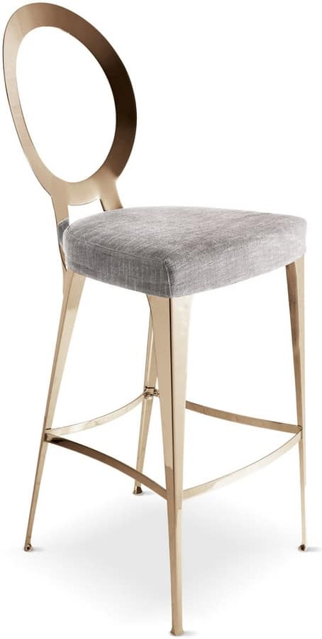 Tabouret de bar contemporain, simple et linéaire | IDFdesign
