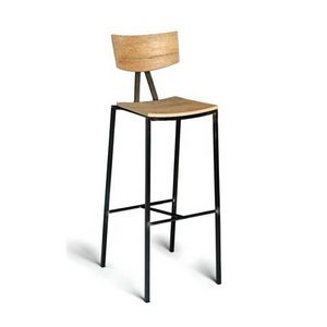 ALLEGRA STOOL, Wooden stools