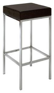 SG 011, Tabouret en métal chromé, assise, pour la cuisine