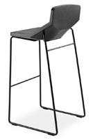 Formula80 stool h75 soft-poly, Tabouret rembourré avec polyuréthane souple, pour cuisin bar et restaurant