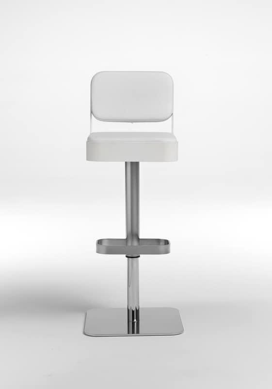 Belt plus, Tabouret pivotant, siège rembourré confortable, réglable en hauteur