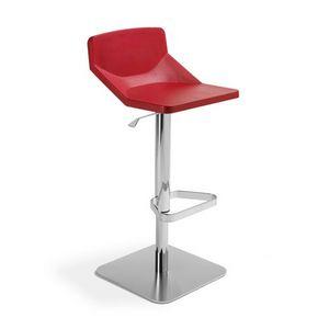 Formula80 adjustable soft-poly, Tabouret réglable, siège rembourré, adapté pour restaurant et le bar