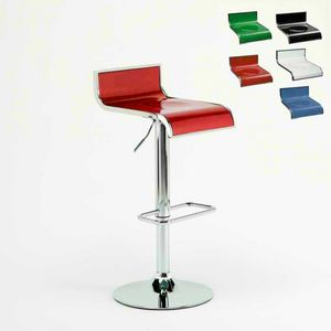 Tabouret de bar design Florida – SGA041FLO, Tabouret regulable, giratorio 360 °, con reposapiés