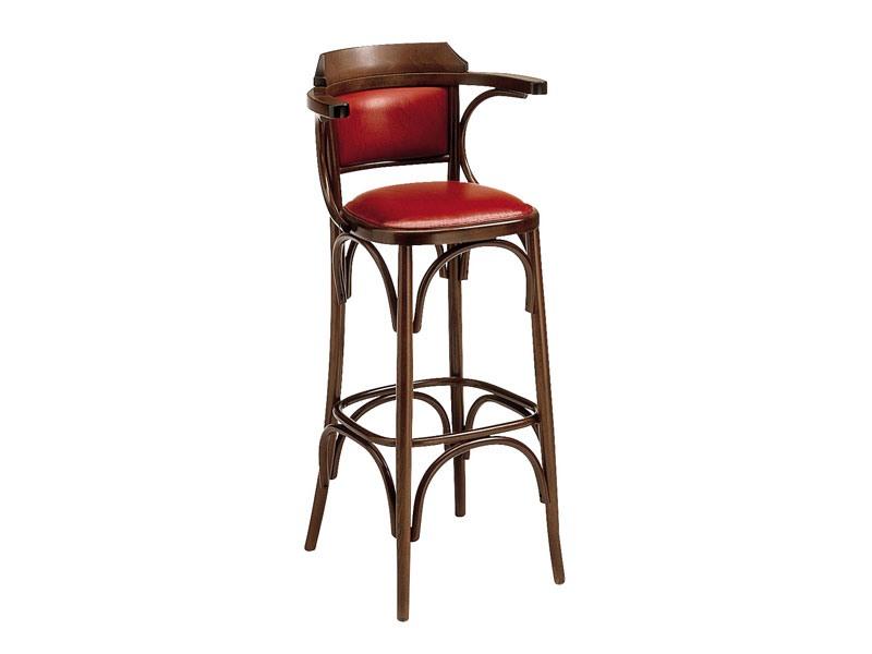 SG/600/imb, Selles hautes en bois incurvé pour pub et bar