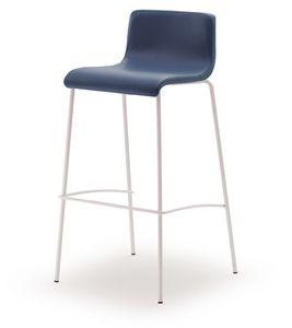 SG 353, Tabouret fixe avec assise en bois