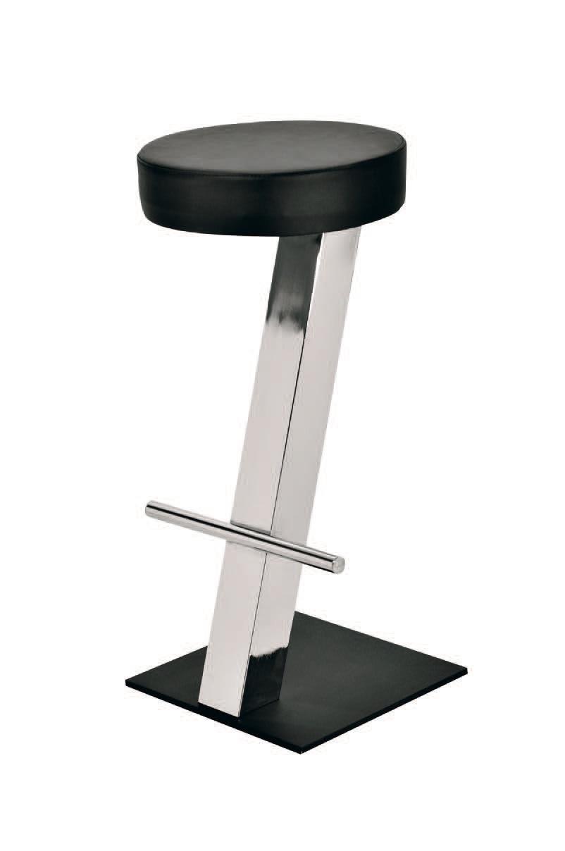 SG 019 / T, Simple, tabouret avec siège circulaire, pour snack-bars