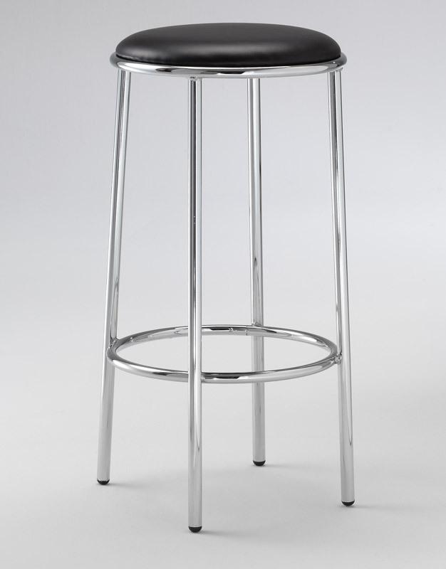 SG 028 / H, Tabouret haut avec siège rond rembourré, pour les pubs