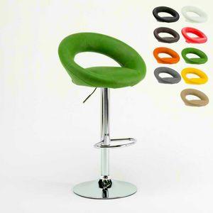 Tabouret design haut de cuisine Chicago – SGA054CHI, Robuste tabouret dans le style moderne, avec siège ergonomique