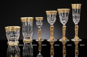 COSTE glassware, Cristal luxueux et verrerie en or pur