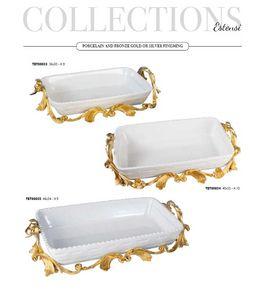 PORCELLANA, Accessoires de table en porcelaine