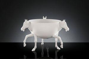 Horse 3 Vase, Vase fabriqué par des artisans italiens
