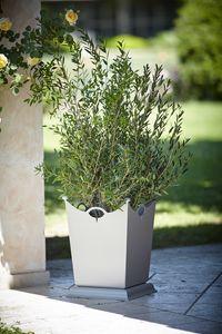 LAMIERE GF4016VA, Vase en fer pour jardin