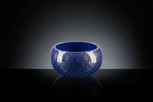Mocenigo vase bowl, Vase décoratif en verre soufflé