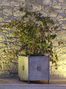 MONASTERO GF4019VA, Vase de jardin en fer décoré