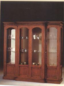 2310 VITRINE, Vitrine avec 4 portes en verre, pour salons de style classique