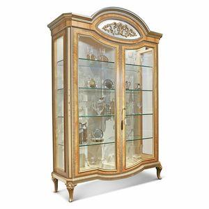AGNES / vitrine, Vitrine luxueuse, avec des détails incrustés