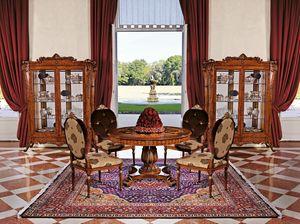 Art. 1161, Vitrine avec 2 portes pour salles de séjour, de style classique