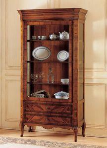 Art. 903, Vitrine en bois d�cor�, style '800 fran�ais