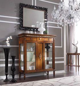 Barbara vitrine, Faible vitrine dans un style classique