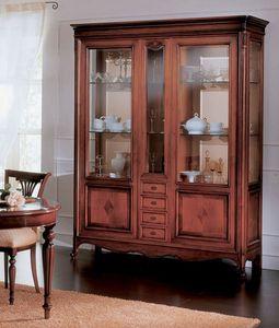 Opera vitrine, Vitrine de style de luxe classique, pour le salon
