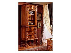 Venezia cabinet 100, Vitrine pour salle à manger classique