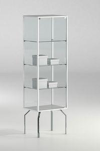 ALLdesign plus 51/17P, Vitrine pour magasin, avec profils en aluminium