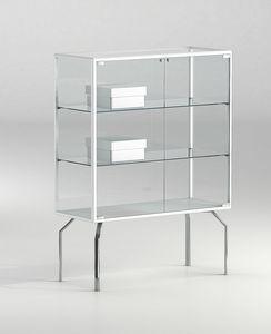 ALLdesign plus 91/12P, Vitrine d'exposition pour magasin ou musée