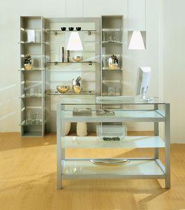 Aury 80/BA, Magasin de meubles, vitrines, meubles modulaire espace commercial magasins, boutiques, Showroom