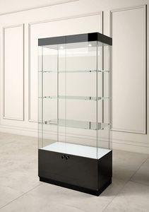 Glossy GL/10A, Vitrine d'exposition avec étagères en verre