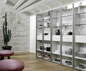 Modo M5C63, Bibliothèque avec portes vitrées