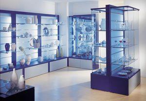 Overglass comp.01, Exposants, fenêtres modulaires, boutique, optiques