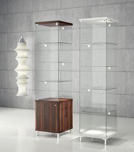 Quadratum Q/45 - Q/45M, Vitrine moderne, pour les bijoux