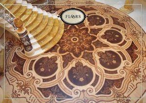 Les planchers en bois, Plancher en bois avec marqueterie prestigieux, idéal pour les environnements de style classique
