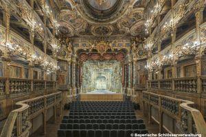 Le théâtre Margraves - Bayreuth